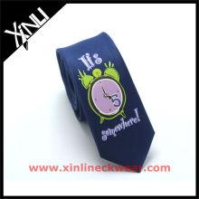 Hochwertiger Druck Personalisierte Krawatten Männer