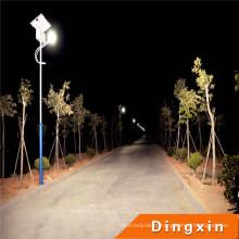Réverbère de la lumière LED de parking de 9m Polonais LED réverbère 54W LED