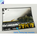 Customized soft plastic bait fishing lure ziplock bags