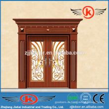 JK-C9042 Porzellan Kunst Malerei Carving Kupfer Kunst Tür Mian Tür Design