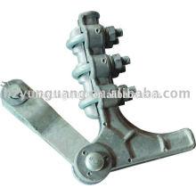 Cabo de liga de alumínio de liga de alumínio braçadeira conjunto de cabos de acessórios elétricos proteger fit hardware