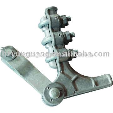 Los accesorios de la tensión de la abrazadera de la aleación de aluminio del cable de arriba fijaron el cable eléctrico protegen el hardware apto