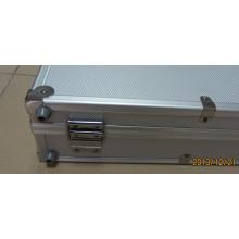 Deluxe 300 Chip Aluminum Poker Chip Case - New! Aluminum Poker Chip