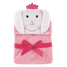 Animal Cartoon Baby Kids Hooded Bamboo Bath Towel