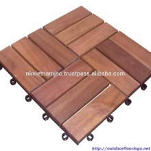WHY SHOULD USE INTERLOCKING DECK TILES / WOODEN TILES 12 SLATS 300X300X19MM