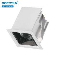 Lumière linéaire LED COB en aluminium 3w intégrée
