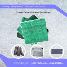 Pantalla de filtro de carbón activado de buena calidad del OEM