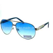 Metall Herren Sonnenbrille mit UV 400 Schutz Mode Linse