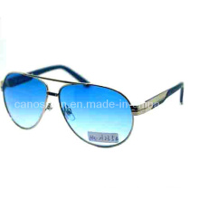 Metal Men Sunglasses with UV 400 Protection Fashion Lens