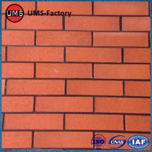 Faux tiếp xúc với tường gạch đỏ gạch