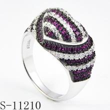 925 Sterling Silber Modeschmuck Ring für Frau (S-11210)