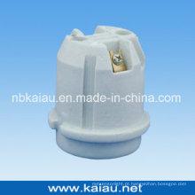 Suporte de lâmpada de porcelana (E27F536)