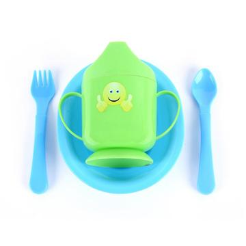 Baby Sippy Cup And Feeding Bowl Set