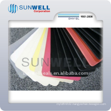 NBR Cr EPDM SBR Silicone Fluorine Rubber Sheet All Kinds of Color (SUNWELL)