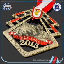 antique gold 1960 e.v sash medal