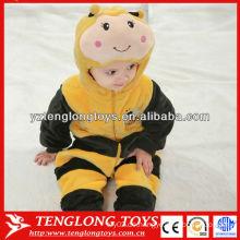 Großhandel Baby Kleidung Plüsch Baby Winter Spielanzug