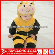 Wholesale Baby Clothes Plush Baby Winter Romper