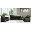 Luxury modern leather office sofa set 1 2 3 seater mid Asia sofa