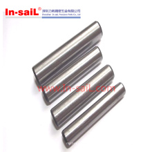 Pinos paralelos de aço inoxidável Unhardened padrão de DIN127 / ISO2338