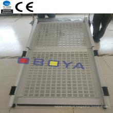 Parte automática, rampa de acesso ao veículo, ISO / Ts 16949