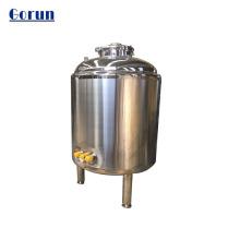 Tanque de almacenamiento de agua líquida sanitaria de gran capacidad
