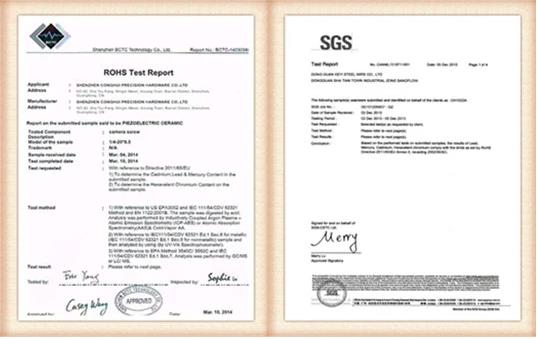Certificated