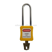 best sales approve CE certification 304 stainless steel padlock long shackle