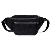 Customized fashion plush women waist bag pillow style for daily use provide the sample reference waist bag