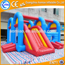 Outdoor/indoor inflatable bouncer inflatable obstacle course for kids