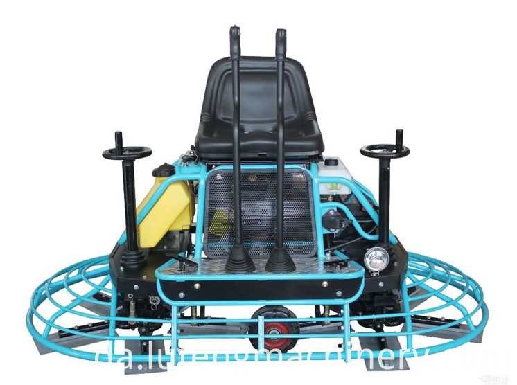 Ride on Power Trowel Machine can be used for