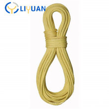 Heat fire resistant aramid fiber rope