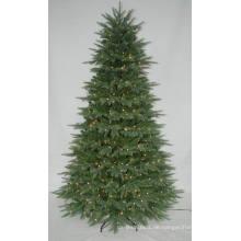 Realist Künstlicher Weihnachtsbaum mit String Licht Multi Farbe LED Dekoration (AT1079)