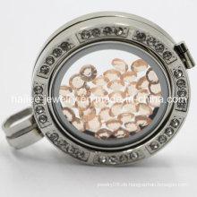 Edelstahl-kundenspezifische Münzen-Halsketten-Locket-hängende Schmucksachen