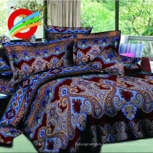 40-150gsm flower printed 3D polyester bed sheet