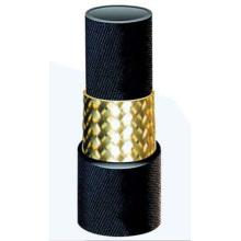 Einlagiger Stahldraht-geflochtener Gummischlauch