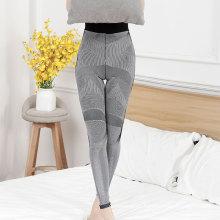 Fashionable gray tight slimming long pants outdoor sports pants shapewear woman