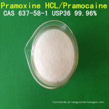 Pramocaine da pureza de USP / anestésico do CAS 637-58-1local do hidrocloro do Pramoxine / Hex do Pramoxine
