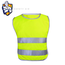 High Visibility Work Shirt for Road Safety with ENISO 20471 Fluorescent Reflective Safety Vest running Vest