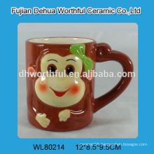High quality ceramic animal tea cup
