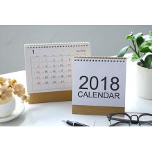 Custom Design 2018 Neujahr Schreibtischkalender Drucken