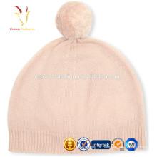 Chapéu de Cashmere Benie Cinzento Gorro de Malha