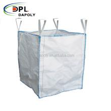 Flexible container bag FIBC PP big bag 1 ton for sand cement 1000kg jumbo bags