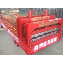 Máquina perfiladora de láminas para techos de chapa de acero esmaltado 828
