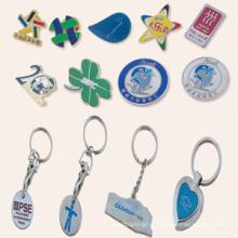 Porte-clés bon marché, badge, cadeaux publicitaires (GZHY-FFL-001)