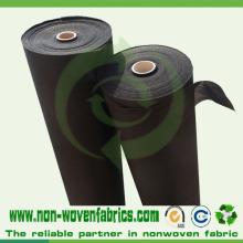 Tissu non-tissé de pp pour le tissu de contrôle de mauvaise herbe d'agriculture