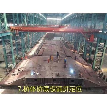 Easy installation heavy steel bridge railway bridge