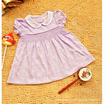Sommer-schweißabsorbierendes Kleid aus Baumwolle für Kinder
