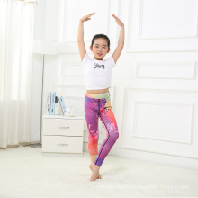 High Quality Seam Print Milk Kids Legging for Yoga
