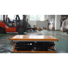 HD4000 two stage stationary i ground type 4000kg scissor lift table with top service