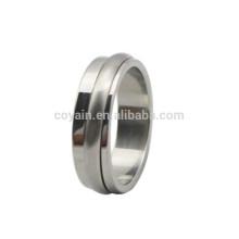 Custom alta qualidade em aço inoxidável Spinner Rings